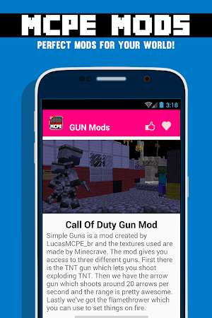 GUN MODS FOR MCPE 1.4.2 screenshot 638874