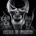 Skull is coming icon
