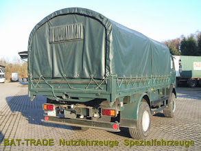 Photo: Mercedes 1017A 4x4 Allrad Heckansicht