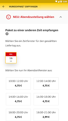 DHL Paket screenshot 20