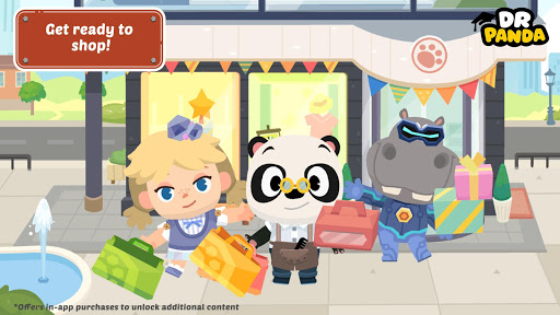 Dr. Panda Town: Mall 1.3 screenshots 1