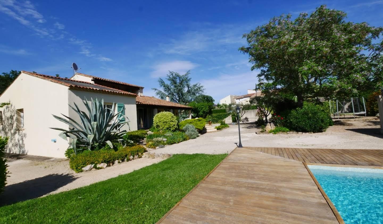 Villa with pool and terrace Sainte-Anastasie
