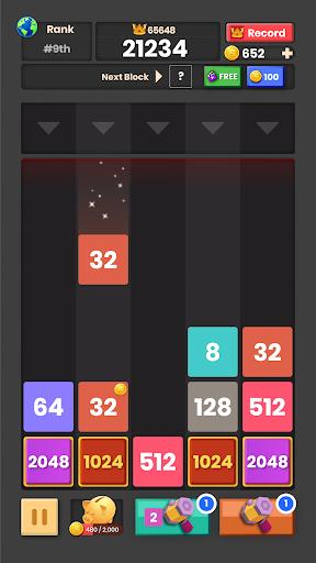 Drop & Merge: Number Puzzle 2048 1.1.0.1 screenshots 5