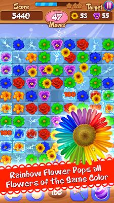 Flower Mania: Match 3 Game - screenshot