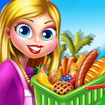 Shopping Girl Games for Kids Icon