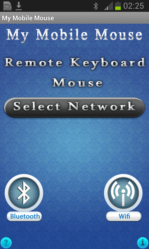 My Mobile Mouse- screenshot