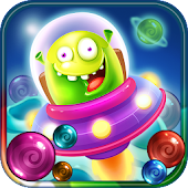 Bubble Burst Adventure: Alien Attack Android APK Download Free By Bubble Quest & Free Bubble Pop By Difference Games