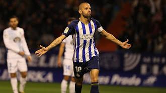 Yuri de Souza espera celebrar la permanencia contra el Almería.