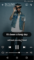 Screenshot of Musixmatch -  Lyrics & Music
