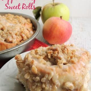 Apple Crisp Sweet Rolls.