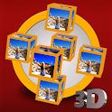 3DGyroPhotoCubes LiveWallPaper icon