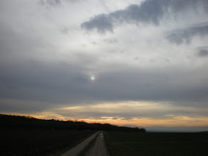 Photo: 'Twas early evening ... and at the half way point of a long walk in spring like winter .....  Wish you all a good week =))