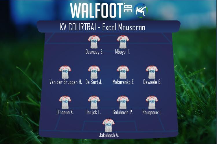 KV Courtrai (KV Courtrai - Excel Mouscron)
