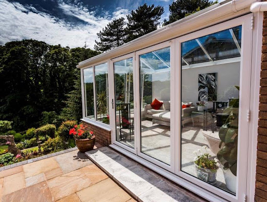 Glass conservatory conversion and installation