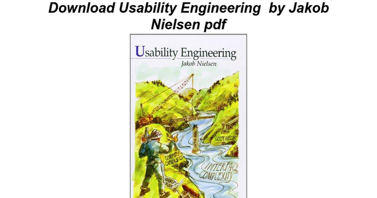 Usability Engineering - Google Docs