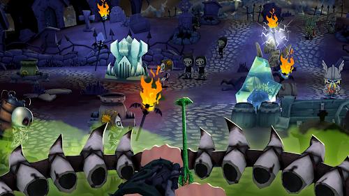 Screenshot 4 Skull Towers: Best Offline Castle Defense Games 1.0.16 APK MOD