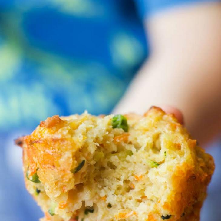 Vegetable Savoury Muffins Recipe