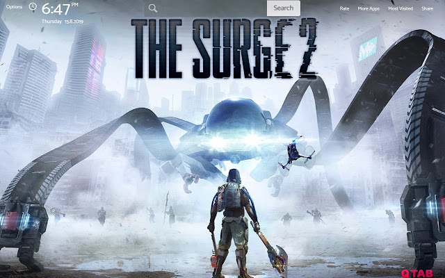 THE SURGE 2 Wallpapers New Tab Theme