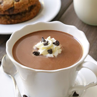 The Ultimate Hot Chocolate (paleo, vegan, dairy-free options).