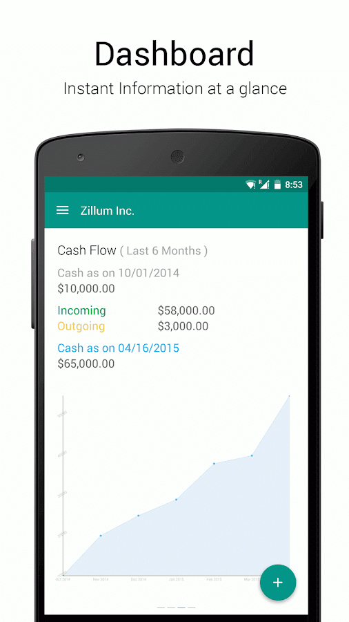 Zoho Books - Accounting App - screenshot