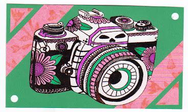 Photo: Wenchkin's Mail Art 366 - Day 136, Card 136a