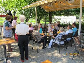 Photo: Kahvihetki menomatkalla Drottningholmin linnaan.