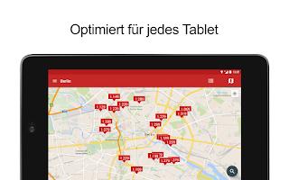 Screenshot of Spritpreise & Tanken