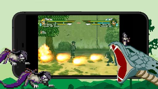 Ninja Return: Ultimate Skill APK MOD screenshots hack proof 2