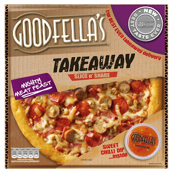 Goodfella's Takeaway Slice & Share Pizza - Mighty Meat Feast, 596g