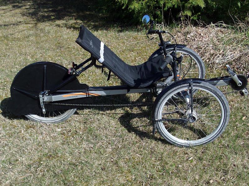 Photo: Rear wheel chain shield