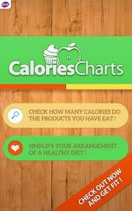 Calorie Chart screenshot 12
