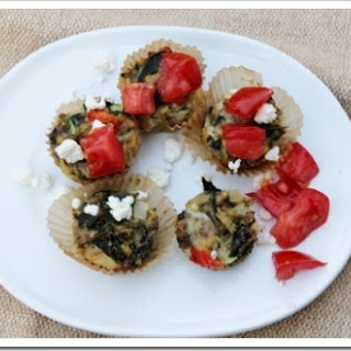 Greek Main Dish Meat-and-Chickpea Muffins.