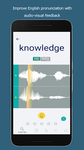 Say It: English Pronunciation App Report on Mobile Action