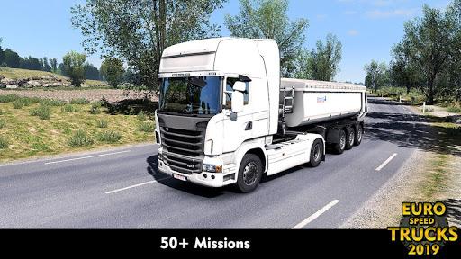 Euro Truck Speed Simulator 2019: Truck Missions  captures d'écran 2