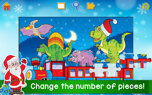 Christmas Puzzle Games - Kids Jigsaw Puzzles ud83cudf85 25.1 screenshots 2