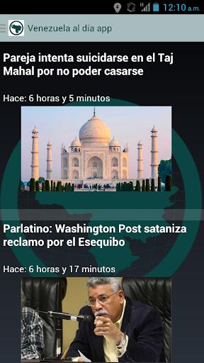 Venezuela al día app