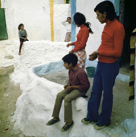 Imagen perteneciente a la serie \'La Chanca\' en color.