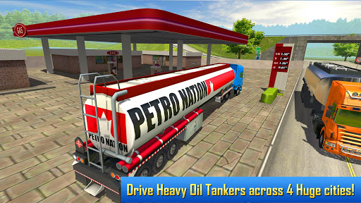 Oil Tanker Transporter Truck Simulator  screenshots 2