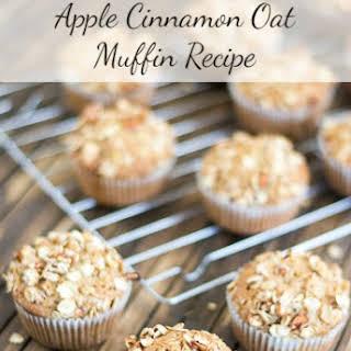 Apple Cinnamon Oat Muffin.