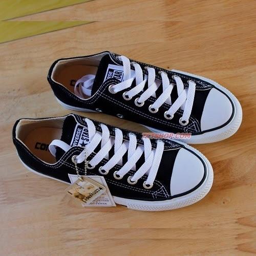 Giày thể thao Adidas conver classic den trắng đế thấp