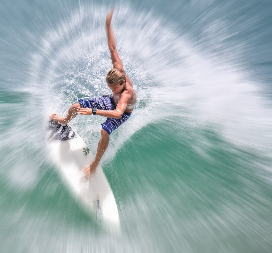 Surfing In Florida by Courtland Roberts - Sports & Fitness Surfing