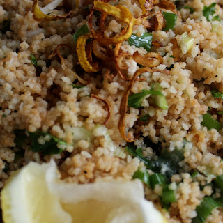 Toasted Couscous Spring Onion Chicken Salad Recipe