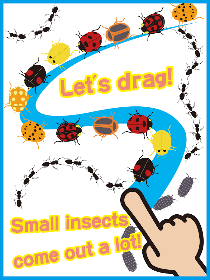 Insect Paradise! Moving draw 2- screenshot