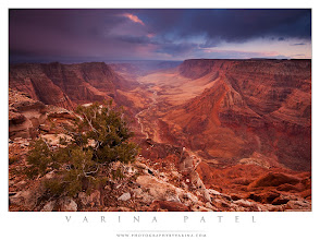Photo: Paria Overlook at Sunset. Arizona.