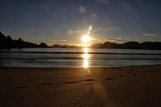 Photo: Sonnenuntergang am Strand