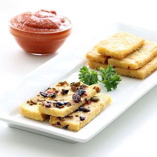 Corn & Chickpea Polenta (Gluten-free, Vegan / Plant-based)