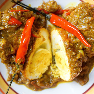 Spicy Egg Curry.