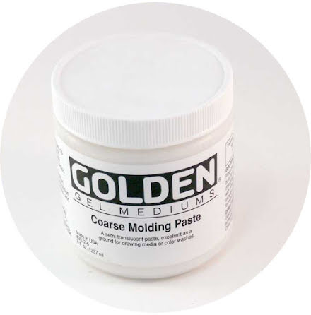 Golden 237ml Coarse Molding Paste
