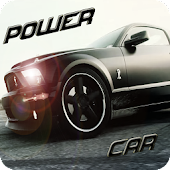 Power Muscle Car Driving