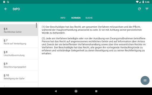 Lawdroid AT – Österreichische Gesetze und EU-Recht screenshot 14